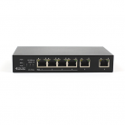 Antiference Clear Flow CF-POE4 Clear Switch 4 port Gb Ethernet Switch with PoE