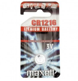 Maxell CR1216 Coin Cell Battery Single Pack