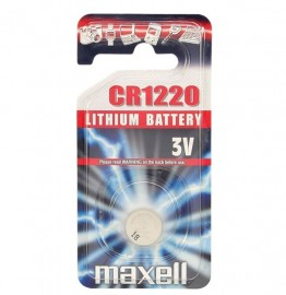Maxell CR1220 Coin Cell Battery Single Pack