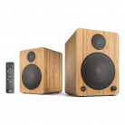 wavemaster CUBE MINI NEO Bamboo – 2.0 Bluetooth Speaker System
