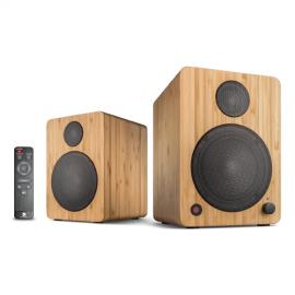 wavemaster CUBE MINI NEO Bamboo – 2.0 Bluetooth Speaker System