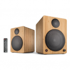 wavemaster CUBE NEO Bamboo – 2.0 Bluetooth Speaker System