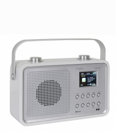 Tangent DAB2go+ Bluetooth/DAB+/FM Rechargeable Portable Radio - White