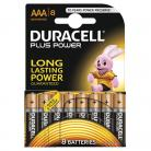 Duracell AAA Size - MN2400 Plus Range 8 Pack