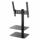 AVF ESL422B Tilt & Turn TV Wall Mount with AV Shelving for Screens Up To 47