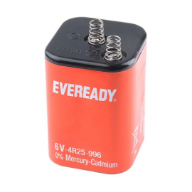 Eveready 996 6V, 11Ah Zinc Chloride Lantern Battery