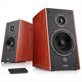 EDIFIER R2000DB 2.0 Speaker System with Bluetooth & Optical Input - Wood
