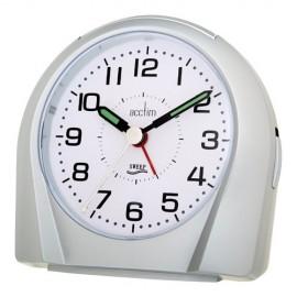 acctim Europa Silence Tick Alarm Clock