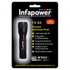 Infapower F001 1x AA Precision Aluminium Torch