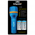 Infapower F021 2 x D Soft Touch Torch