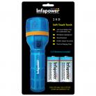Infapower F021 2 x D Soft Touch Torch