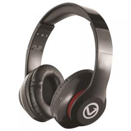 Volkano Impulse Series Over-Ear Multi-Function Bluetooth Headphones - Black