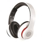 Volkano Impulse Series Over-Ear Multi-Function Bluetooth Headphones - White