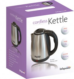 Infapower X503 1.8L 360 Degree Cordless Kettle - Stainless Steel