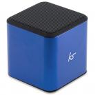 KitSound KSCUBBTBL Cube Bluetooth Speaker (Blue)