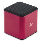 KitSound KSCUBBTPI Cube Bluetooth Speaker (Pink)