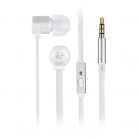 KitSound KSHIVBWH Hive In-Ear Headphones with In-Line Microphone - White