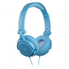 KitSound iD Audio On-Ear Headphones with In-Line Mic - Blue