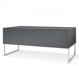 Norstone KHALM 1400mm AV Furniture - Lacquered Grey