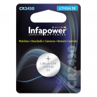 Infapower L901 CR2430 3V Lithium Coin Cell