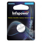 Infapower L904 CR2016 3V Lithium Coin Cell