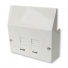 LJ5208V/BP VDSL/ADSL Broadband Filter Plug-In Faceplate