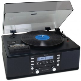TEAC LP-R550A USB Turntable System, Phono/Cassette/CD Recorder/Radio