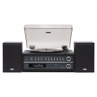 TEAC MC-D800 3 Speed Bluetooth Turntable System with Speakers (Black)