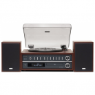 TEAC MC-D800 3 Speed Bluetooth Turntable System with Speakers (Cherry)