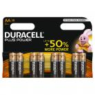 Duracell AA Size - MN1500 Plus Range 8 Pack
