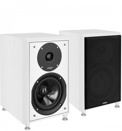 Eltax Monitor III Bluetooth Award Winning Bookshelf Speaker - White