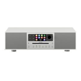 Sonoro Meisterstuck Stereo with Bluetooth CD/USB/FM/DAB+ - White