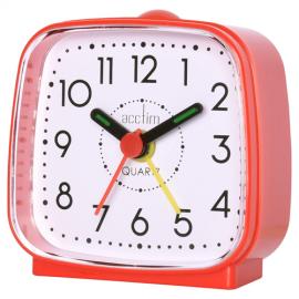 acctim Norton Alarm Clock - Red