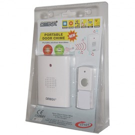 NEW Omega Battery Operated Wireless Door Chime