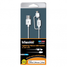 Infapower P026 Apple Lightning/Micro USB Combo Cable