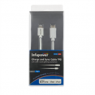 NEW Infapower P056 USB-C to Lightning Charge and Sync Cable