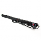 Kauden PDU12/STD 12-way Vertical Slimline Rack Mountable Mains PDU