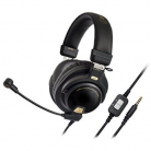 Audio-Technica Premium Closed-Back Gaming Headset with Removable Mic.