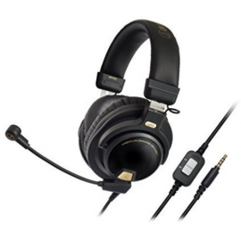 Audio-Technica ATH-PG1 Premium Closed-Back Gaming Headset with Removable Microphone