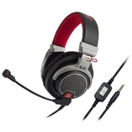 Audio-Technica ATH-PDG1 Premium Open-Air Gaming Headset with Removable Microphone
