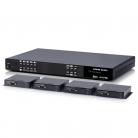 CYP PUV-44XPL-4K22-KIT 4 x 4 HDMI HDBaseT LITE Matrix with 2x HDMI outputs & Audio De-embedding inc. 4x PUV-1210PL-RX Receivers