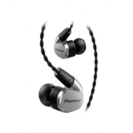 Pioneer SE-CH5T-S In-Ear Stereo Headphones - Silver
