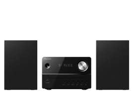 Pioneer X-EM26  Micro System with Bluetooth, CD, FM Radio, MP3 USB, Sleep Timer & Remote