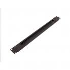 Penn Elcom R1268/1UK 1U Aluminium Brush Panel - Black