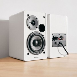 NEW EDIFIER R1280T Active 2.0 Studio Speakers with Dual RCA Inputs - White