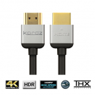 Kordz R.3 Rack Optimised HDMI - 1.5m (30cm - 2.7m lengths available)