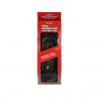 Red/Grey 4 gang - 13A x 5m lead - Black (Boxed)