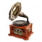 Ricatech RMC350 5-in-1 Music Centre with Phonograph Horn