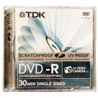 TDK DVD-R 8cm 3 Pack Mini Jewel Case
