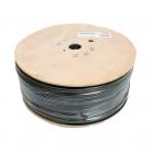 SATAPLUS Sat Cable Twin Alum Foil 75ohm - Black 250m